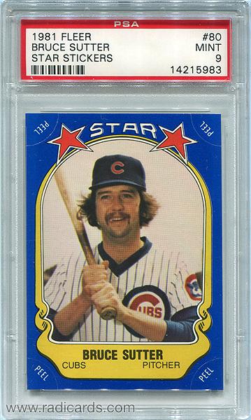 1981-fleer-star-stickers-80-bruce-sutter-psa9