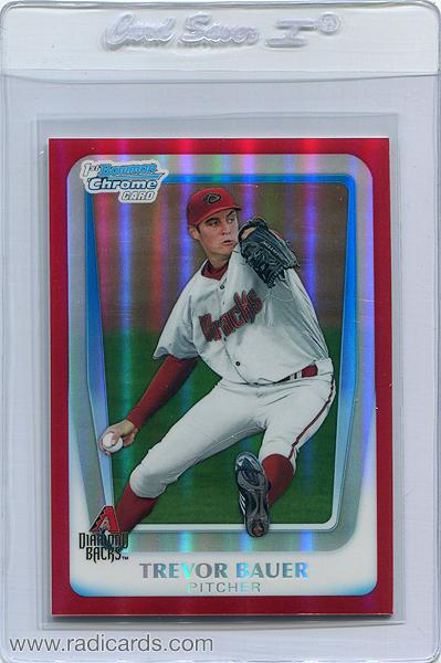 2011-bowman-chrome-draft-prospects-red-refractor-bdpp9-trevor-bauer